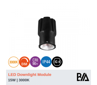 BOND - 15W | LED Downlight Module | 3000K