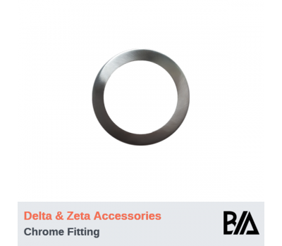 Trim - Brushed Chrome | DELTA & ZETA Accessories
