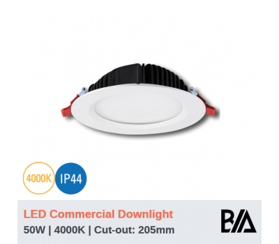 THOR - 50W | LED Commercial Downlight | 4000K (CLEARANCE)