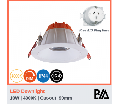ZETA - 10W | LED Downlight | 4000K
