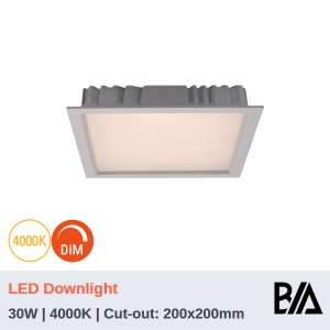 QUADRO - 30W | LED Downlight | 4000K