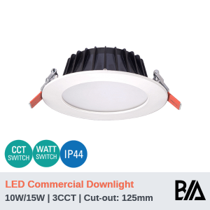 THOR PLUS - 10W/15W | LED Commercial Downlight | 3CCT